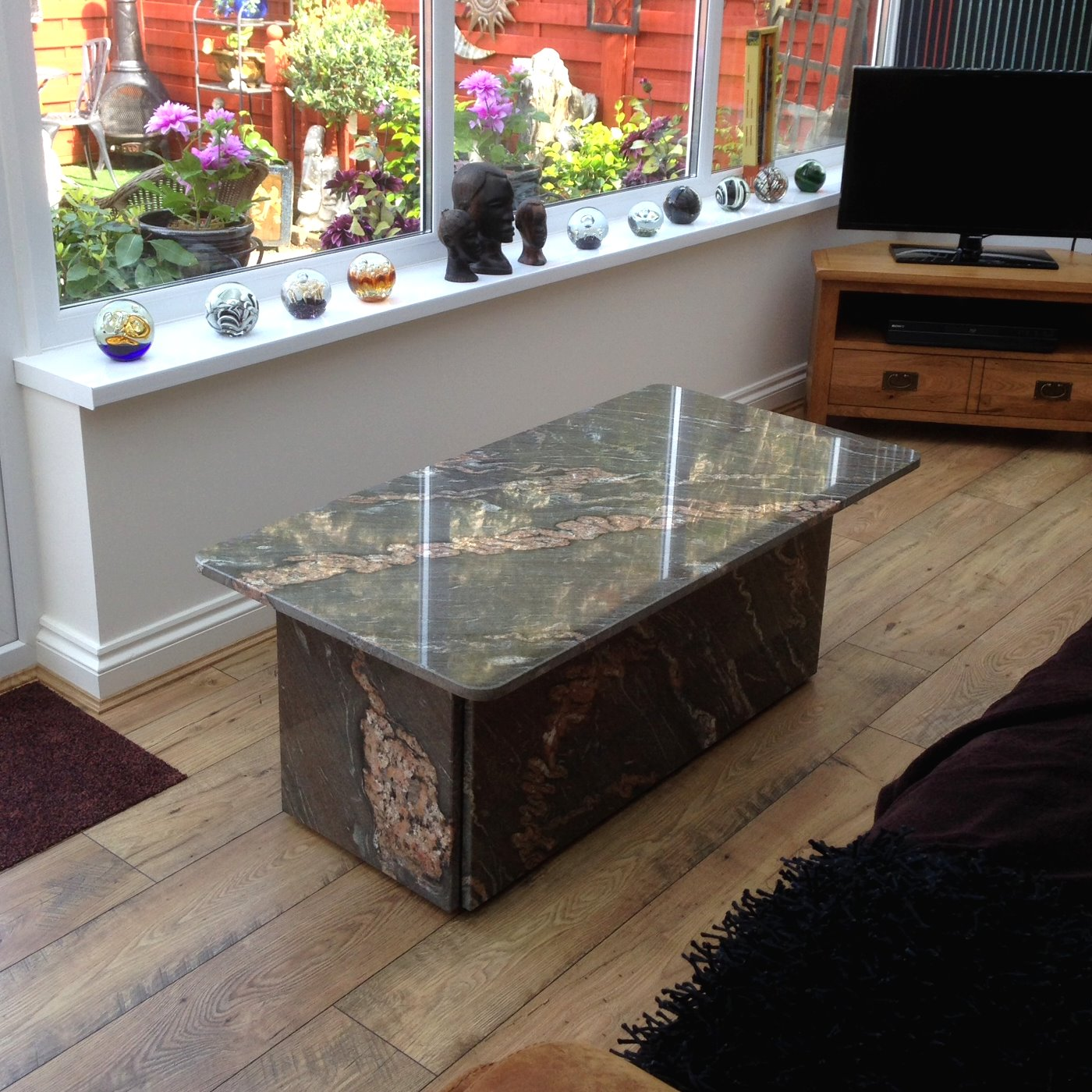 Stone tiles fireplaces granite worktops table tops shropshire staffordshire wolverhampton uk Granite coffee table