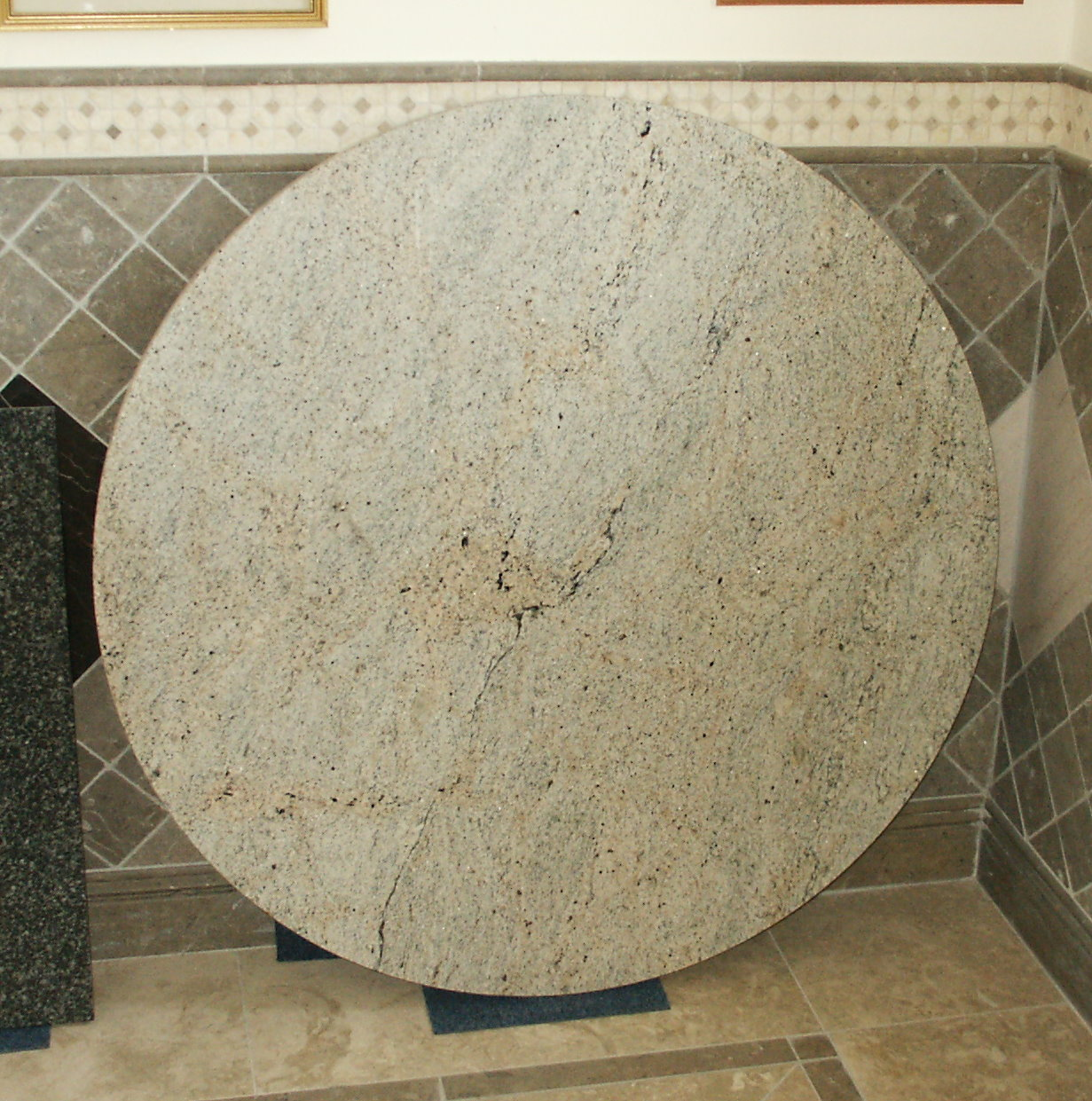 Beautiful Imperial White Granite Table Top